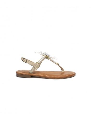 Sandalo Corallo e Pelle Bianca
